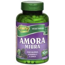 Amora Miura com Vitaminas 500mg 120 cápsulas Unilife -