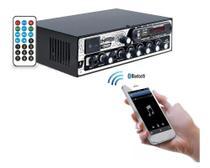 Amplificador boog mx 2000 bt receiver usb bluetooth 300w -