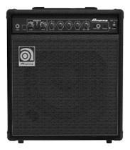 Amplificador combo ampeg baixo 30w 1x10 ba-110 -