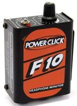 Amplificador de Fones Power Click F10 Headphone Monitor -