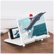 Amplificador De Imagem Tela 3d Celular Suporte Universal Lupa Zoom -