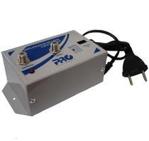 Amplificador De Linha Vhf/ Uhf/ Catv 20 Db Bivolt PQAL-2000 - Proeletronic
