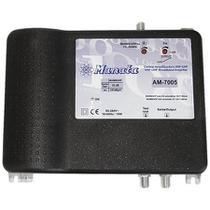 Amplificador de potencia 32db bivolt para vhf e uhf com tilt - Manata