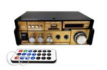 Amplificador de som com 2 canal karaokê e bluetooth - Teli amplifier