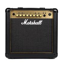 Amplificador Marshall Combo para guitarra 15W MG15GFX GOLD -