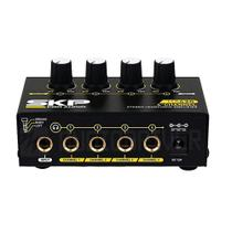 Amplificador para Fone de Ouvido Retorno 4 Canais HA-420 SKP -