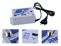 Amplificador Sinal 20 dB Tv Hdtv Lcd Plasma Catv Uhf Vhf - Pro Eletronic