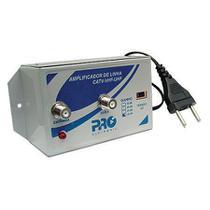 Amplificador Sinal Antena VHF/UHF - Proeletronic  20 DB -