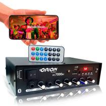 Amplificador Som Ambiente Bluetooth 4 canais - ORION