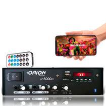 Amplificador Som Residencial Comercial 300w Rms 2 Canais - Orion