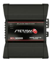 Amplificador Stetsom Ex3000 Black 4H -