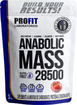 Anabolic Mass 28500 3KG Hipercalórico Profit Laboratórios -