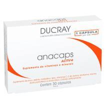 Anacaps Activ+ Ducray - Suplemento Antiqueda Capilar -