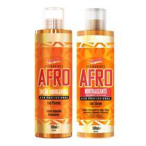 Analéa Permanente  Afro Loção Onduladora + Neutralizante 2 X 500ml -
