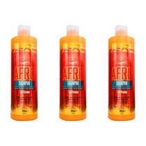 Analea Permanente Afro Shampoo 500ml (Kit C/03) -
