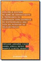 Analise e sintese de base de conhecimento e tecnol - Lumen juris