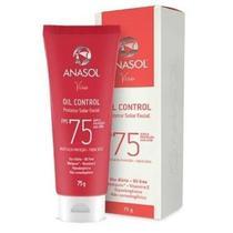 Anasol Protetor Solar Facial Oil Control Fps75 75g - Dahuer