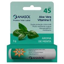 Anasol protetor solar labial fps 45 menta 5g -