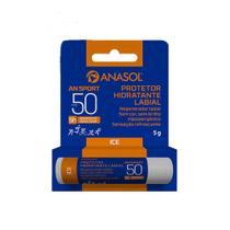 Anasol Protetor Solar Labial FPS 50 AN Sport Resistente Água/Suor -