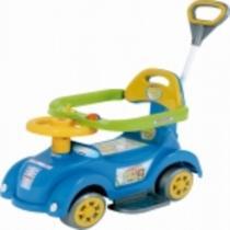 Andador Baby Car Azul com Empurrador Biemme -