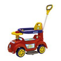 Andador Baby Car Vermelho com Haste Articulada Biemme -