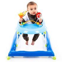 Andador Baby Step Voyage Azul Até 12 Kg -