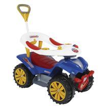 Andador Com Empurrador Biemme Dudu Car Style Azul -