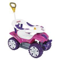 Andador Com Empurrador Biemme Dudu Car Style Rosa -