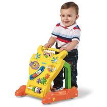 Andador Feliz Brinquedo Educativo Bebê Calesita Ref 902 Amarelo -