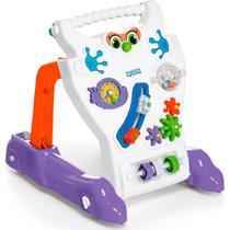 Andador Feliz Brinquedo Educativo Bebê Calesita Ref 902 Branco -