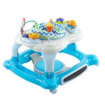 Andador Infantil 4 Em 1 Cosco Goal Walker Azul -