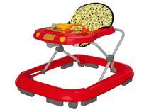 Andador Infantil Com regulagem Vermelho - Tutti Baby -