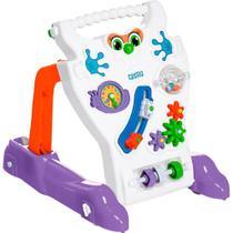 Andador para Bebê Calesita Feliz - Branco -