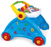 d4cdf2e892 Andador para Bebê Didático Múltiplas Funções - Poliplac - Azul