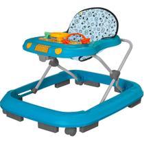 Andador para Bebê Tutti Baby Safari - Azul -