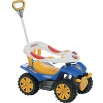Andador Quadriciclo Infantil Dudu Car Style Com Empurrador Biemme -