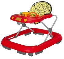 Andador Safari Vermelho (Até 12 Kg) - Tutti Baby -