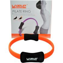 Anel de Pilates Toning Ring - LIVEUP LS3167C-Laranja -