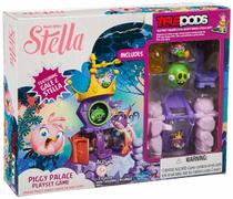 Angry Birds Stella Telepods Piggy Palace Playset Game - Fun