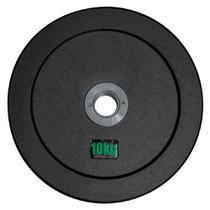 Anilha Olímpica Emborracha Bumper - Rae Black 10 kg - Rae Fitness -