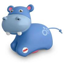 Animais com rodas rolinho do hipopótamo - fisher price frr62 - Mattel -