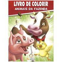 Animais da fazenda: Col. Livro de Colorir c/ 80 páginas - Blu