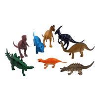 Animais dinossauro pacote com 8 unidades médio - barcelona -