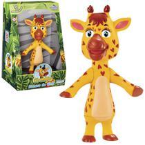 Animal girafa de vinil giramille na caixa - Art Brink