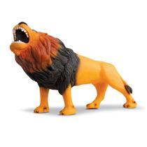 Animal Leão Grande Rei Da Selva 31cm - Beetoys Brinquedos -