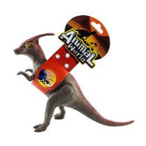 Animal World Dinossauro com Som 25 cm - Papasaurolphus - Buba -