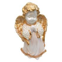 Anjo Da Guarda Rezando Pérola 20cm - Divinário Artigos Religiosos