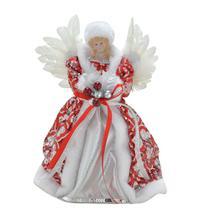 Anjo Natal Vermelho e Branco Espressione Christmas 31cm -