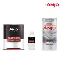 Anjo Preto Fosco Vinílico c/ Catalisador (Kit com ou Sem Solução Desengraxante) -