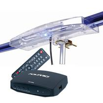 Antena Digital Amplificada  4K Externa Capte Diamante e Conversor Digital Aquários DTV 7000S -